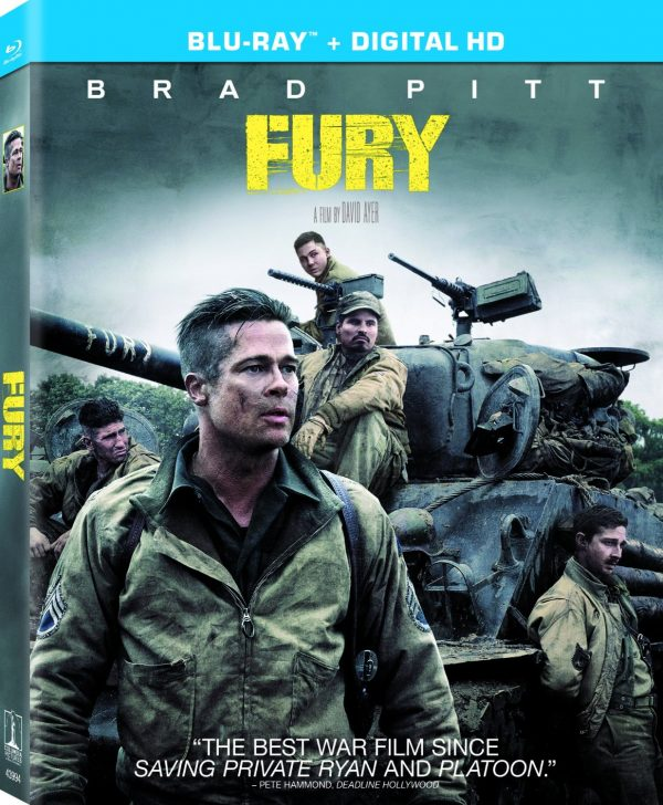 Fury Film Digital HD Copy