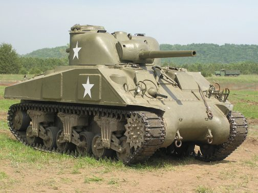 American Sherman Medium Tank
