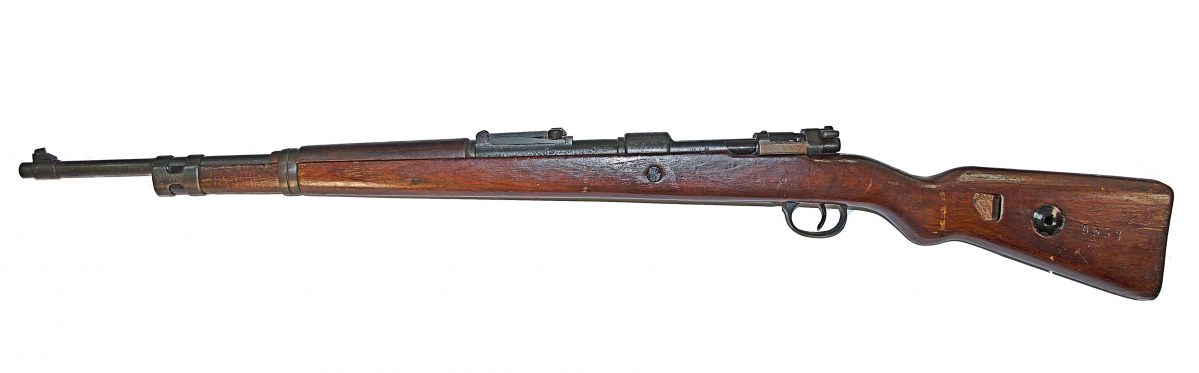 The Carabin-Mauser-98-k was the main rifle of Germany in WWII.