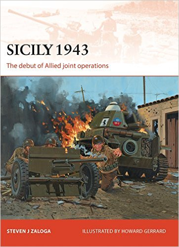 Allied Invasion of Sicily 1943 Book