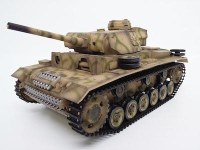 Panzer lll Remote Control 1/16 Scale Model