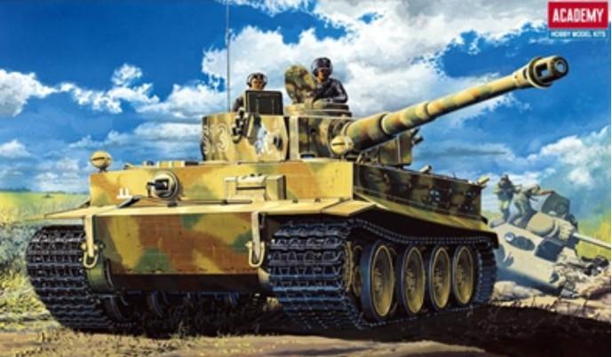 German Tiger-I Early Version Tank Model Kit