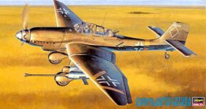Ju87G2 Stuka Attacker Plane Model Kit