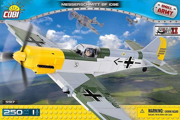 Messerschmitt Bf 109 E 250 Pcs Small Army WWII Plane