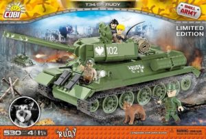 Rudy 102 T-34-85 Limited Edition 530 Pcs Small Tank