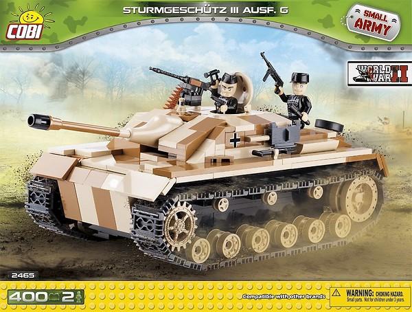 Sturmgeschütz III Ausf. G WWII 400 Pcs Small Tank