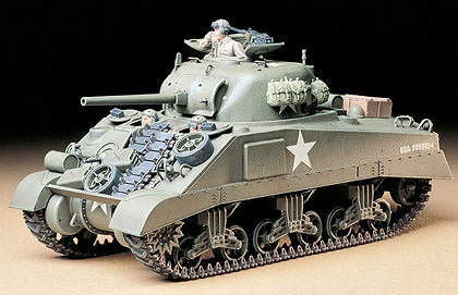 US M4 Sherman Tank Model Kit