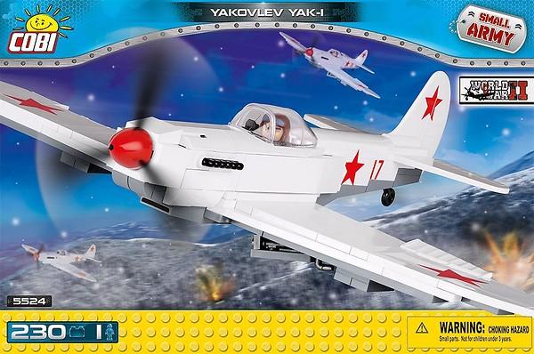 Yakovlev Yak-1 230 Pcs Small Army WWII Plane