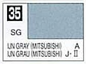 Solvent-Based Acrylic Semi-Gloss Gray Mitsubishi Paint